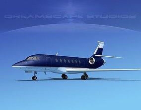 3D Dassault Falcon 2000 V13