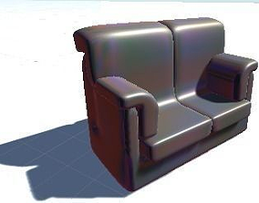 Couch 3D print model