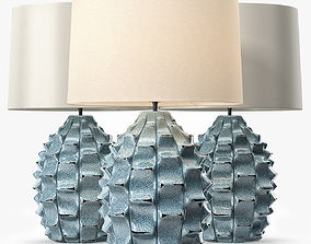 3D LuxDeco Bayern Table Lamp - Turquoise Base