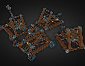 3D asset Catapult Kit