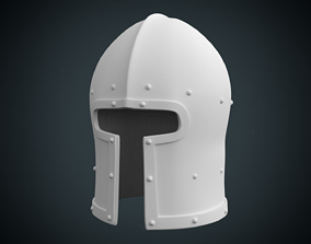 Barbute 3D printable model