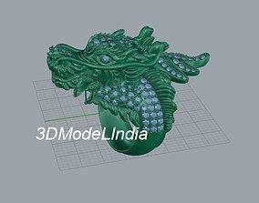 creature Dragon Ring 3d model