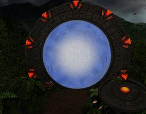 3D model PBR Stargate