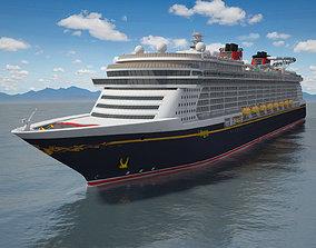Disney Dream Cruise Ship 3D
