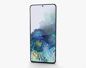cloud Samsung Galaxy S20 Plus Cloud Blue 3D