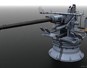 Bofors 40mm gun 3D