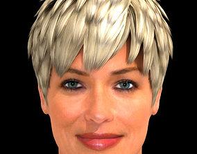 3D Sharon Stone Hair