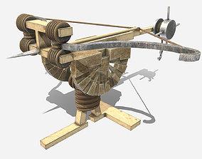 3D asset Low Poly PBR Balista