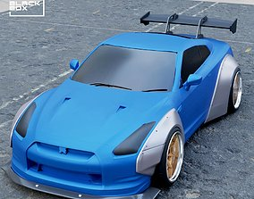 Widebody Set for GTR R35 Diecast models and RC