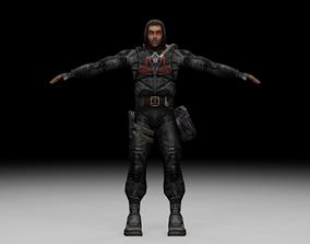 3D model Stalker - Duty Soldier 07