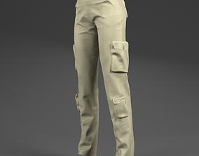 3D asset Pants for woman