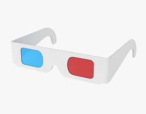 low-poly 3d Glasses
