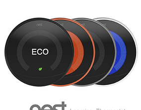Nest Learning Thermostat 3D