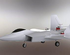 3D printable model f22 raptor rc