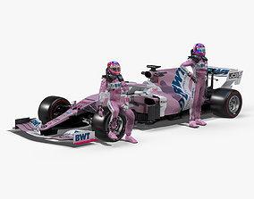 Racing Point RP20 2020 3D asset