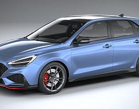3D Hyundai i30 N 2021