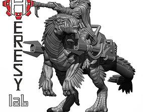3D printable model HL188 - Greater God Mounted Beast 1