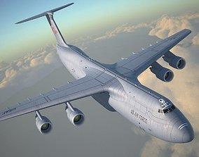 3D model Lockheed C-5 Galaxy