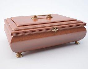 Jewellery casket 3D