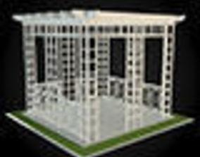 3D model exterior Pergola