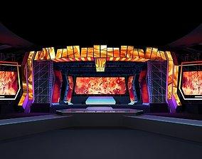3D Concert stage design