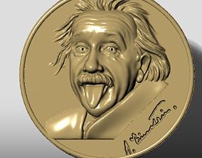 Einstein ring pendant 3D print model