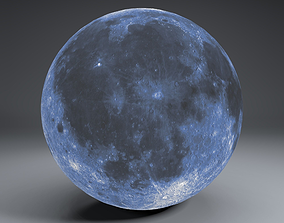 3D model Blue MoonGlobe 11k