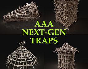 3D model Next Gen AAA Survival Improvised Animal Traps 2