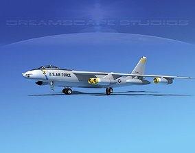 Boeing B-47B Stratojet V04 3D