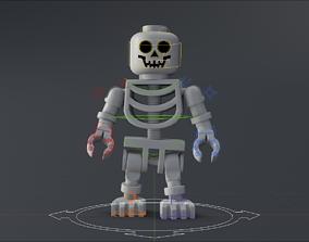 LEGO Skeleton 3D model