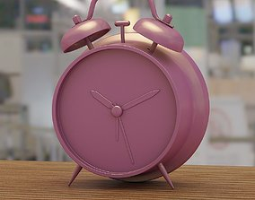 Alarm clock 3D printable model alarm