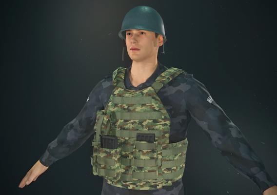 Serbian Police Forces Character