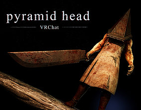 3D model pyramid head vrchat