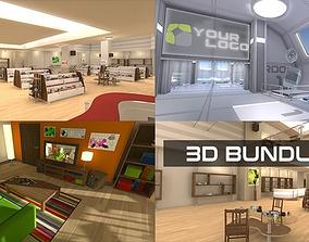 low-poly 3D VR Bundle 01 unity