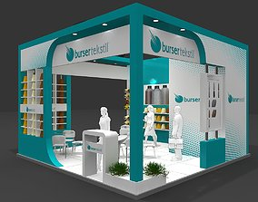 3D Exhibition Stand - ST0064