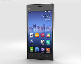 3D Xiaomi MI-3 Silver