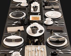 3D Kitchen Serving Table 2
