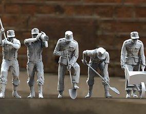 3D printable model German soldiers