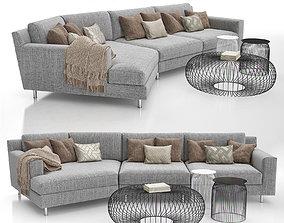 Manhattan Corner Sofa 3D model
