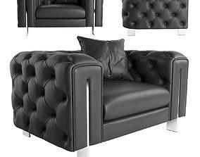 Vincent Contemporary armchair 3D model
