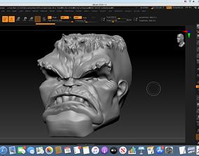 3D printable model Immortal Hulk Head