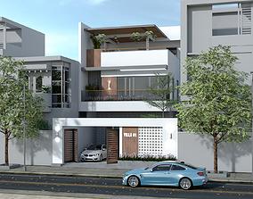 3D model Villa Design