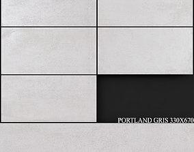 3D model Keros Portland Gris 330x670