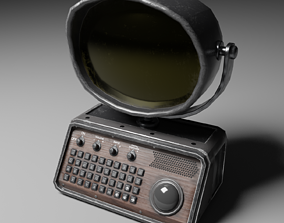 3D model Computer Low Poly