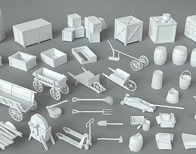 3D model Environment Units-part-3 - 39 pieces