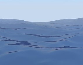 animated ocean 3D Ocean Animated