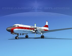 3D model Convair CV-580 Kar-Air