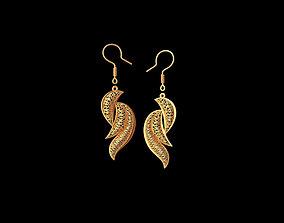 Light earrings 3D print model
