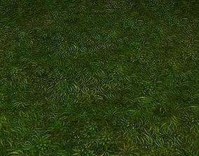 ground grass tile 30 3D
