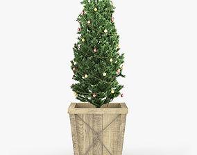 Christmas tree 03 3D bush